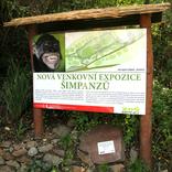Zahájení stavby nové expozice pro šimpanze 13. 9. 2017
