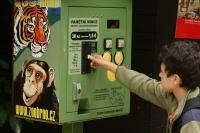 Zoo Brno commemorative coin machine