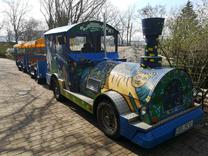 Provoz vláčku v Zoo Brno