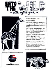 Into the Wild with English Guide aneb po stopách zvířat se studenty Gymnázia Slovanské náměstí - 7. 4. 2020