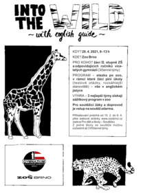 Into the Wild with English Guide 2021