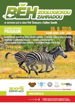 Běh zoologickou zahradou